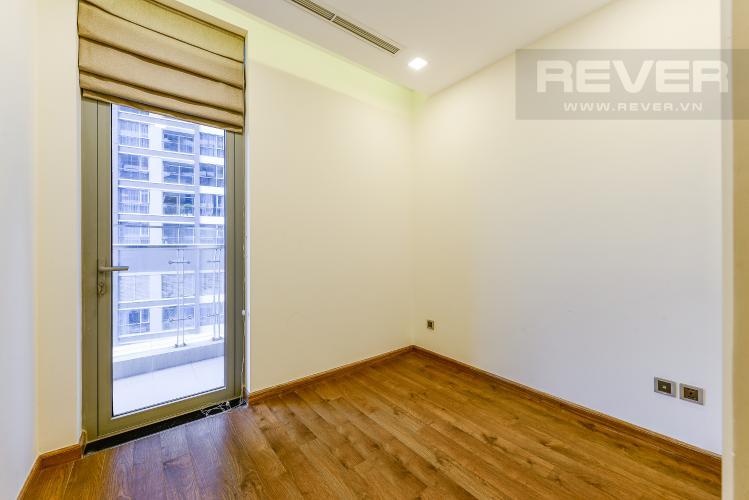 Phòng ngủ 2 Căn hộ Vinhomes Central Park tầng trung, tháp Park 5, 2 phòng ngủ, view sông