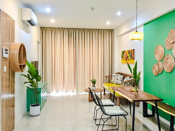 Căn hộ Masteri Millennium 2PN tầng cao, view đẹp, nội thất đầy đủ