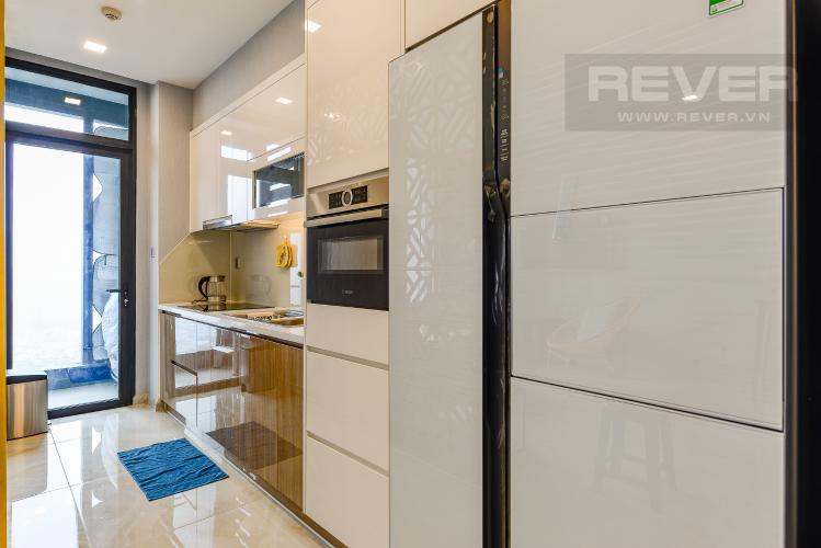 Bếp Căn hộ Vinhomes Golden River tầng trung, tháp Aqua 3, 3PN, full nội thất