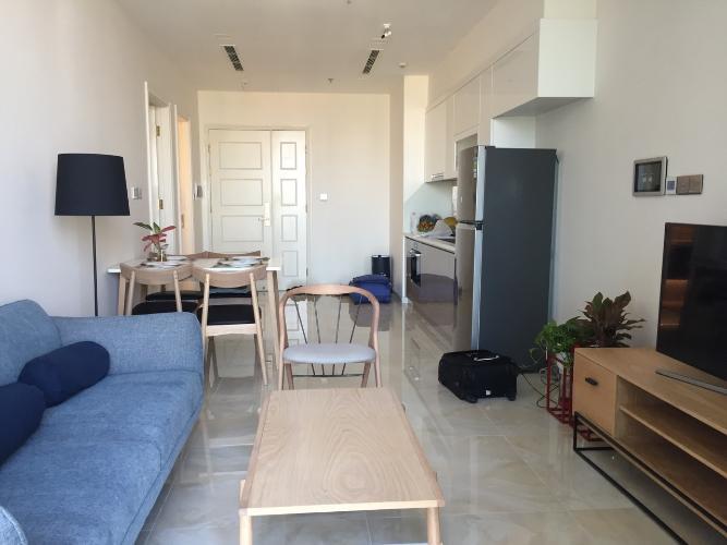 Cho thuê căn hộ officetel Vinhomes Golden River 1PN, diện tích 49m2, đầy đủ nội thất, view sông Sài Gòn và Bitexco