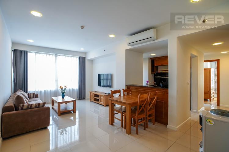 Phòng khách căn hộ SUNRISE CITY Bán hoặc cho thuê căn hộ Sunrise City 3PN, tháp V4 khu South, đầy đủ nội thất, view nội khu yên tĩnh
