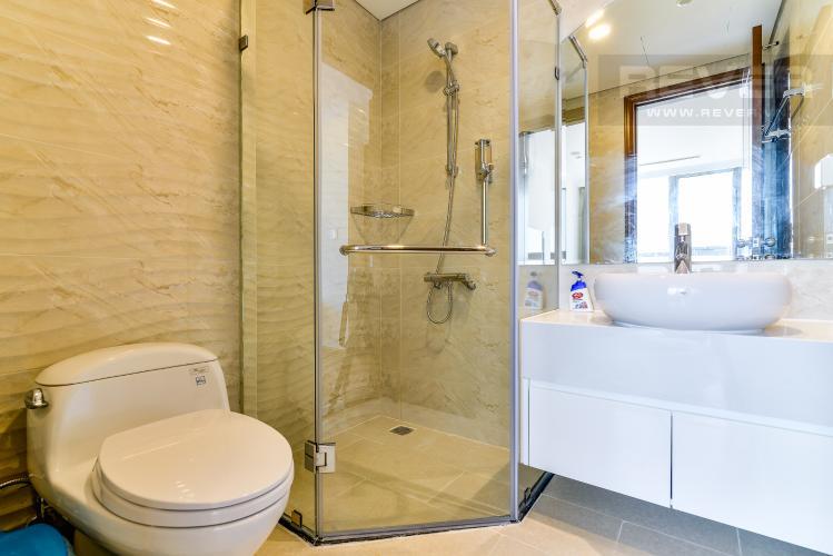 Phòng Tắm 2 Căn hộ Vinhomes Central Park 2 phòng ngủ tầng trung L6 hướng Đông Bắc