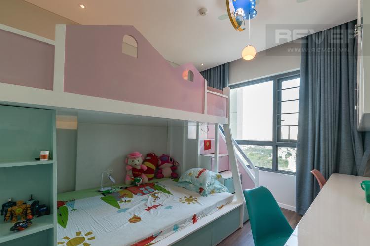 Phòng Ngủ 2 Căn hộ Diamond Island - Đảo Kim Cương tầng cao, 3PN, nội thất đầy đủ, view sông