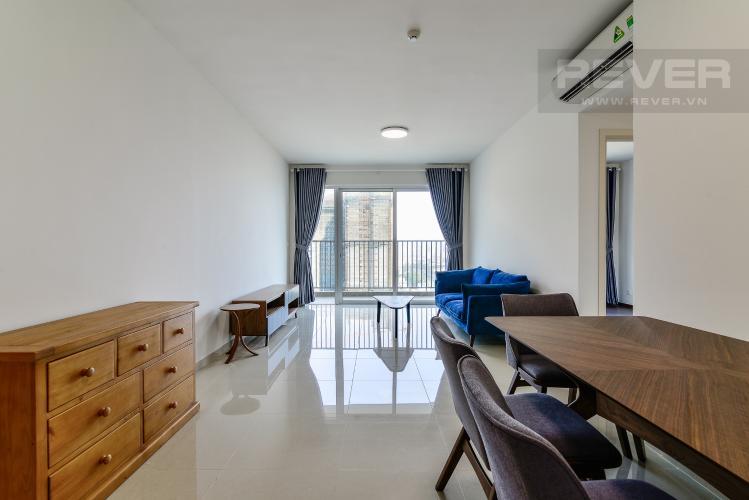 Phòng Khách Bán hoặc cho thuê căn hộ Vista Verde 2PN 2WC, nội thất cao cấp, view thành phố