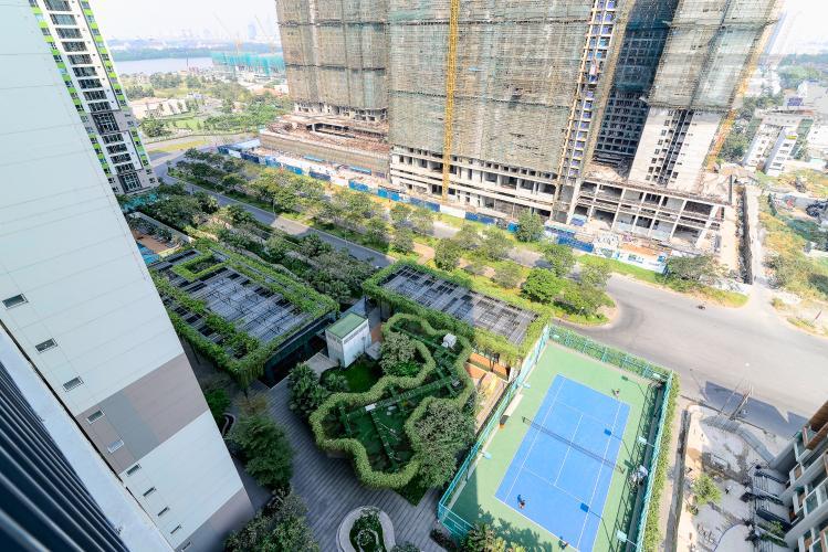 View Bán hoặc cho thuê căn hộ  Vista Verde 89.1m2 2PN 2WC, nội thất tiện nghi, view thành phố
