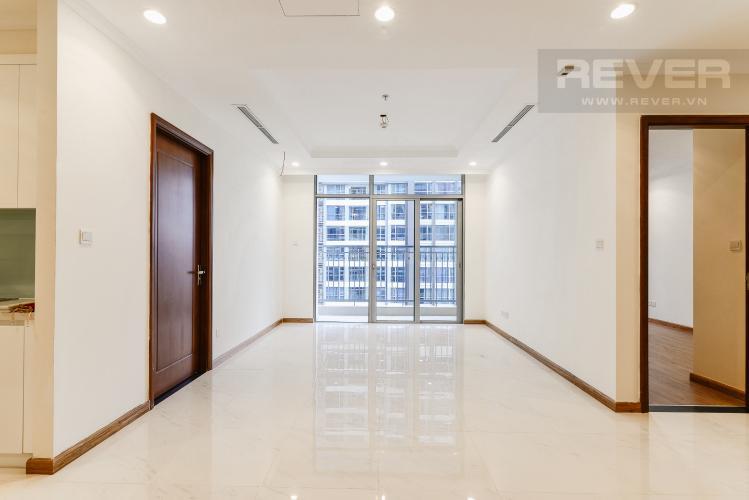 Phòng Khách Căn hộ Vinhomes Central Park 3 phòng ngủ tầng cao Central 1