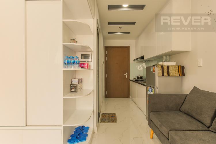 Phòng Bếp Officetel RiverGate Residence 1 phòng ngủ tầng trung tháp B hướng Đông Bắc