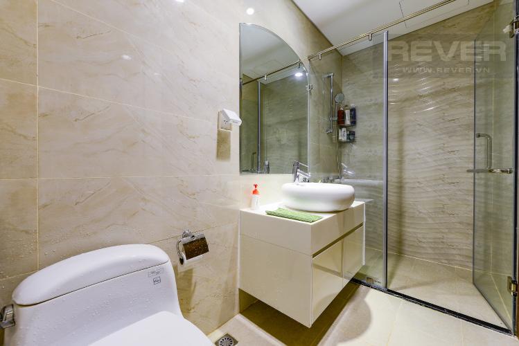 phòng tắm 1 Căn hộ Vinhomes Central Park tầng trung L3 vừa hoàn thiện, full nội thất
