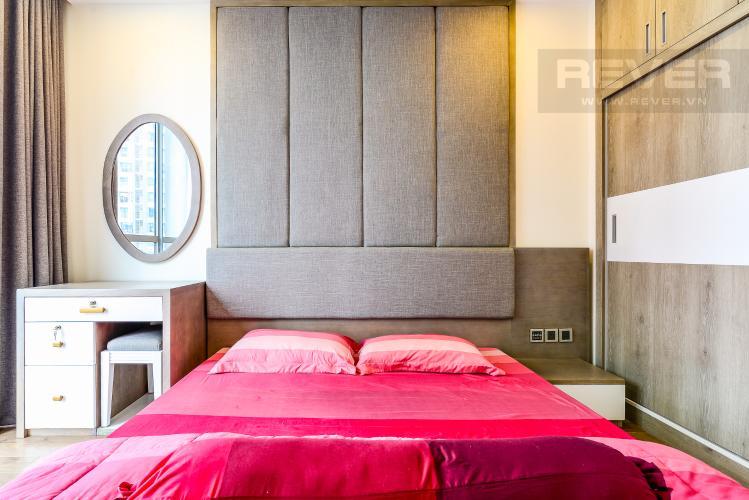 Phòng Ngủ 1 Căn hộ Vinhomes Central Park 3 phòng ngủ tầng cao P6 nội thất đẹp