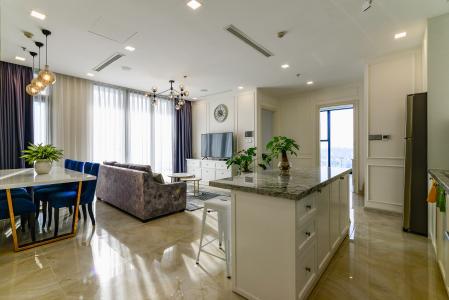 Căn hộ Vinhomes Golden River tầng cao, 3PN đầy đủ nội thất