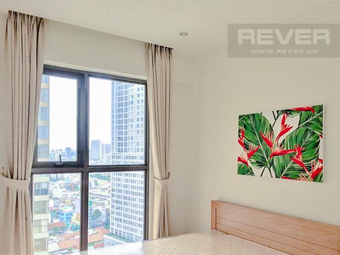 Phòng Ngủ 2 Căn hộ Masteri Millennium 2PN tầng cao, view đẹp, nội thất đầy đủ