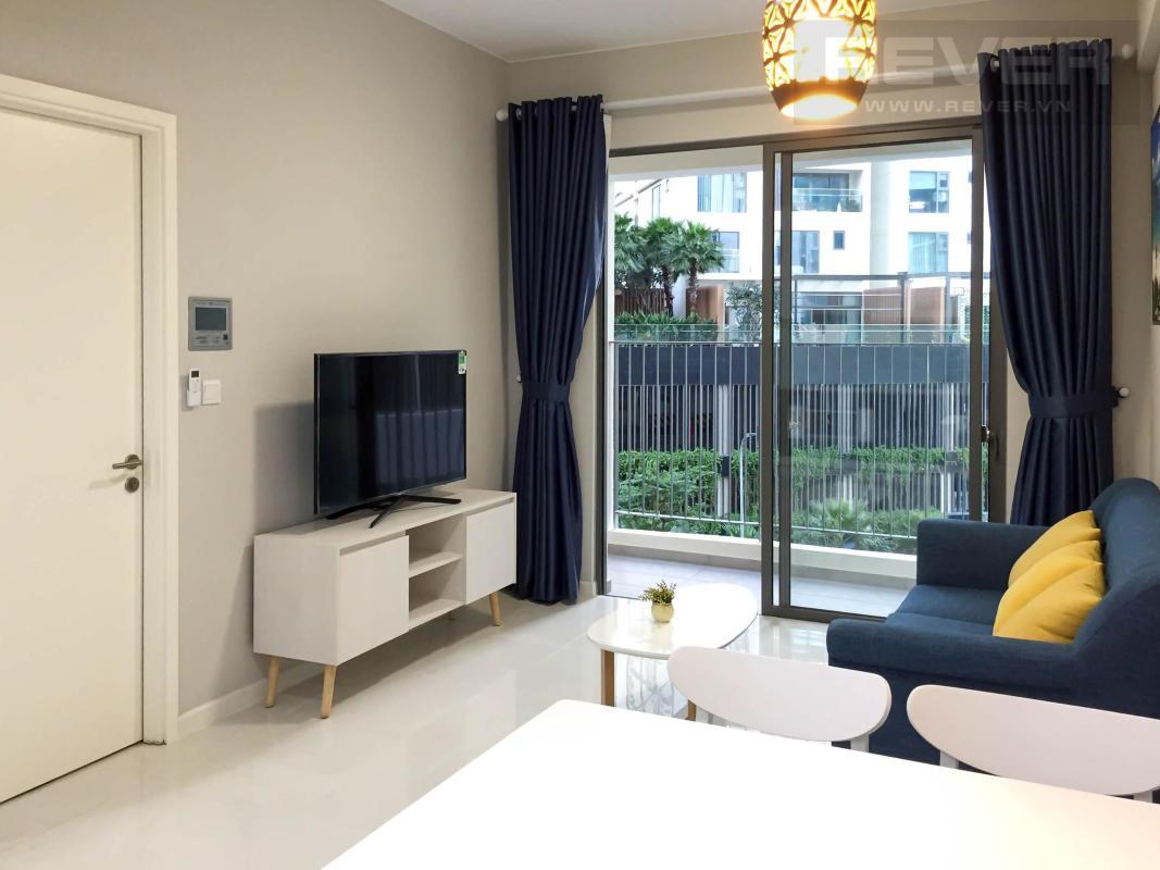 Phòng khách Bán căn hộ Masteri An Phú 1 phòng ngủ, tầng thấp, tháp A, diện tích 50m2, đầy đủ nội thất