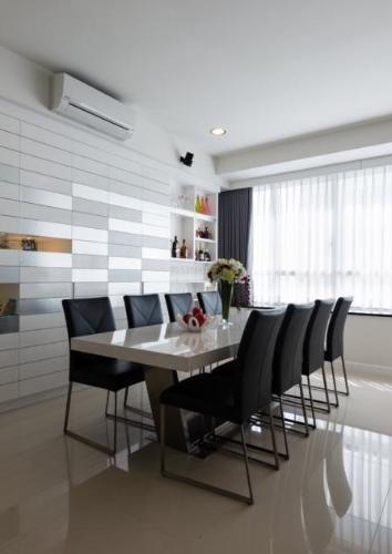 Phòng ăn và bếp căn hộ SUNRISE CITY Bán hoặc cho thuê căn hộ Sunrise City 3PN, tháp V2 khu South, diện tích 162m2, đầy đủ nội thất