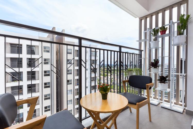 Ban công căn hộ Saigon South Residence Bán căn hộ Saigon South Residence tầng trung, 3 phòng ngủ, diện tích 104m2, đầy đủ nội thất.