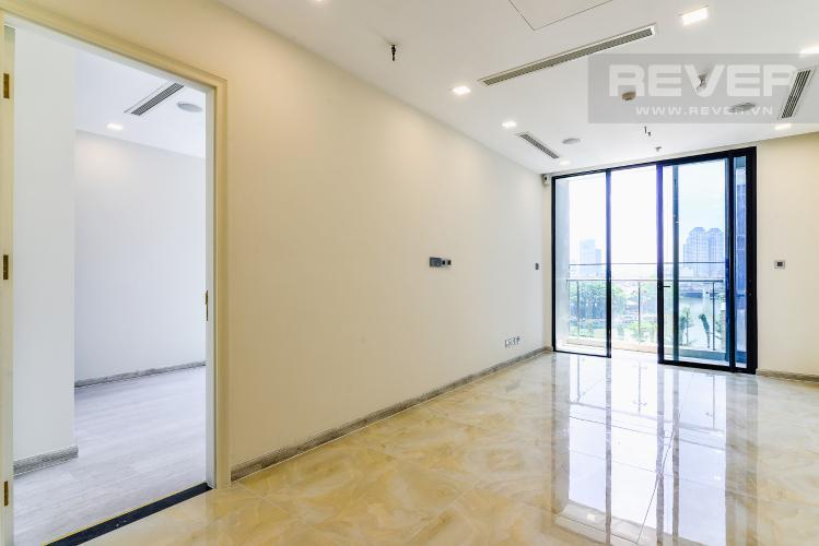 Phòng Khách Officetel Vinhomes Golden River 1 phòng ngủ tầng thấp A2 view sông