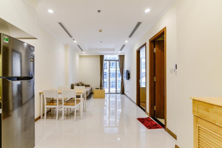 Căn hộ Vinhomes Central Park 1 phòng ngủ tầng trung L5 nội thất đầy đủ