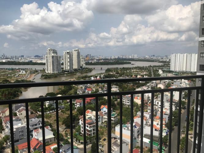 View Bán căn hộ The Sun Avenue 1PN, tầng cao, không nội thất, view Thạnh Mỹ Lợi
