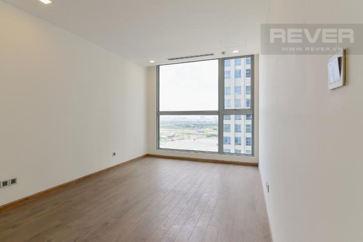 Phòng ngủ 4 Căn góc Vinhomes Central Park 4 phòng ngủ, nội thất cơ bản, view sông