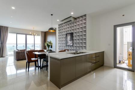 Cho thuê căn hộ Estella Heights 3PN, tầng cao, đầy đủ nội thất, view Xa lộ Hà Nội