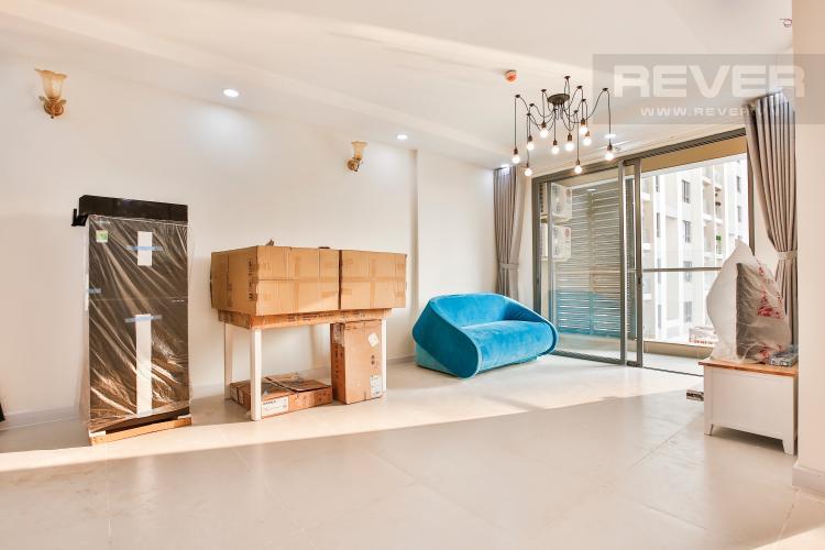 Phòng Khách Căn hộ The Gold View 1 phòng ngủ tầng thấp A3 view hồ bơi
