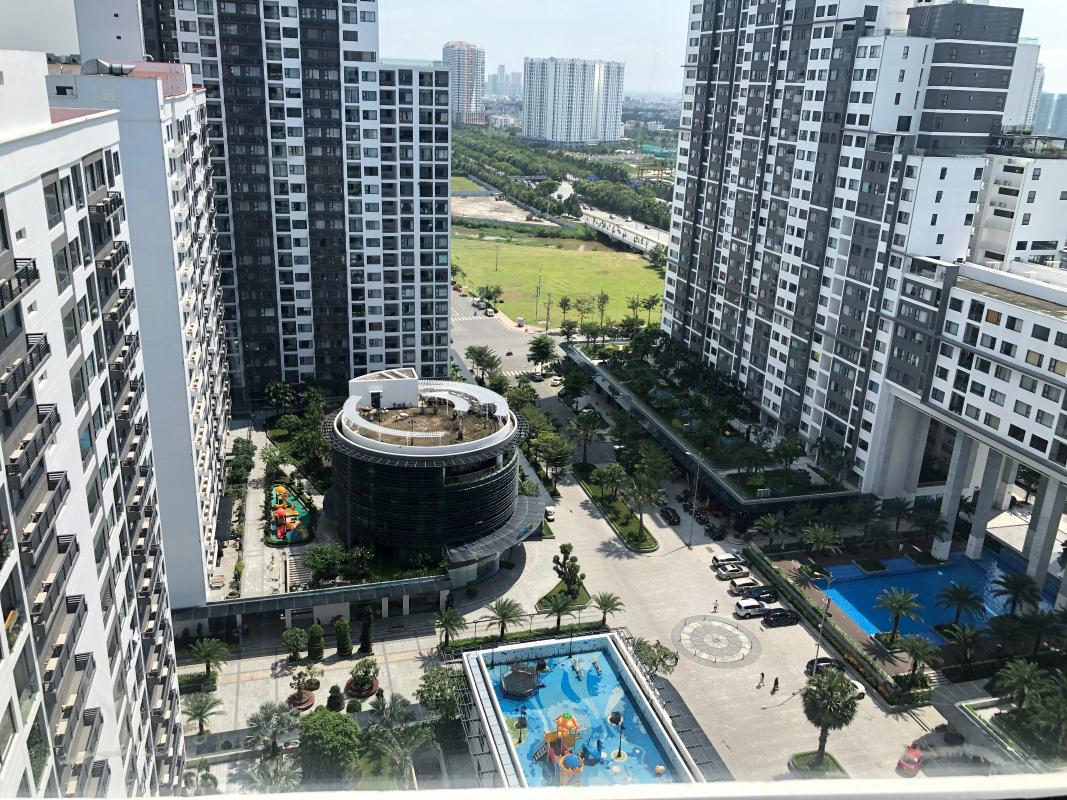 IMG-2119 Bán hoặc cho thuê căn hộ New City Thủ Thiêm 3PN, tầng 20, tháp Venice, nội thất cơ bản, view hồ bơi và sông Sài Gòn