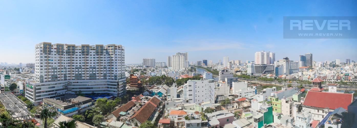 View Officetel RiverGate Residence 1 phòng ngủ tầng trung tháp B nhà trống