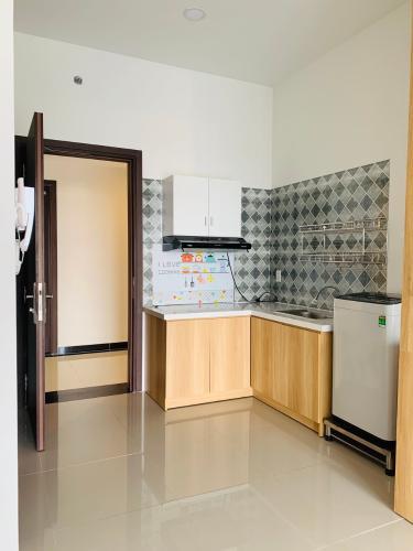 bếp căn hộ The Sun Avenue Căn hộ The Sun Avenue nội thất cơ bản, hướng Đông Bắc.