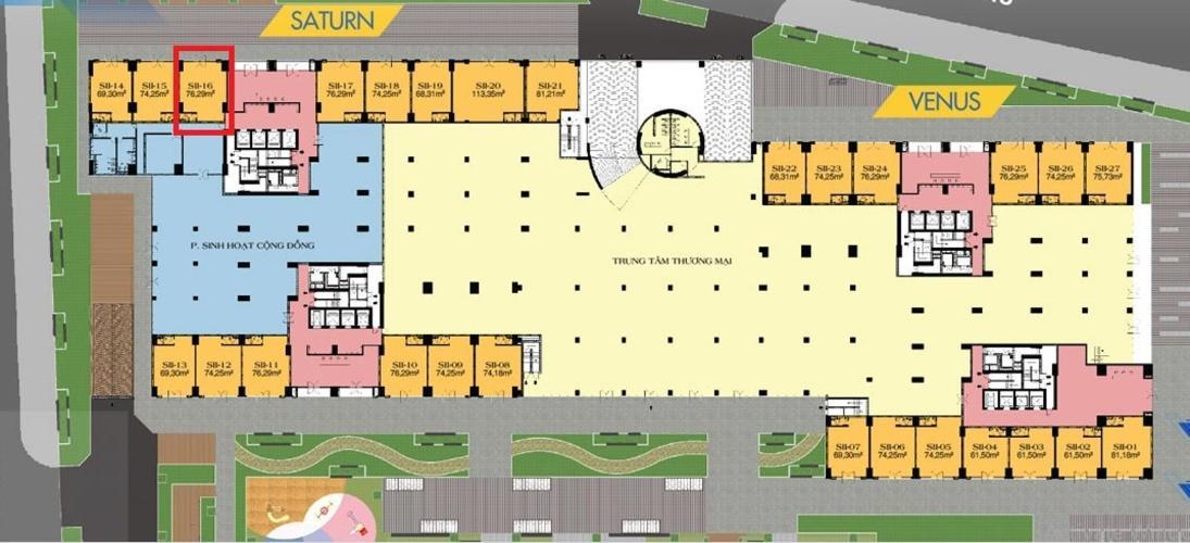 Shop-house Q7 Saigon Riverside nội thất cơ bản, thuận tiện kinh doanh.