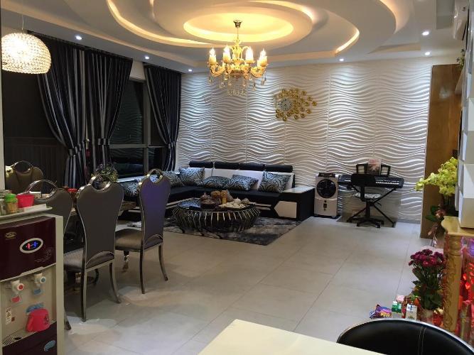 Cho thuê căn hộ Riviera Point 2PN, tầng thấp, diện tích 106m2, đầy đủ nội thất, view hồ bơi và sông