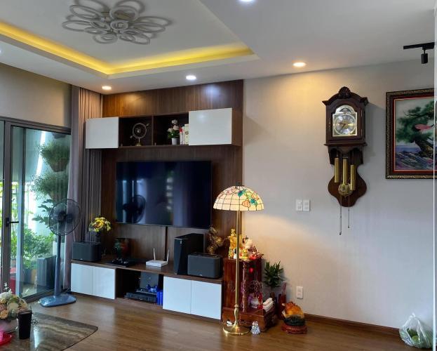 Phòng khách Hausneo Quận 9 Căn hộ Hausneo tầng trung, bàn giao nội thất cơ bản.