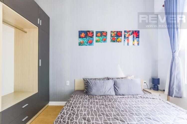 Phòng ngủ 2 Cho thuê căn hộ Masteri Thảo Điền 2PN, tầng cao, tháp T2A, đầy đủ nội thất, hướng Tây Bắc