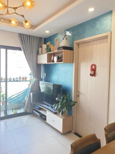 Phòng khách căn hộ NEW CITY THỦ THIÊM Bán căn hộ New City Thủ Thiêm 2PN, đầy đủ nội thất, ban công Tây Nam