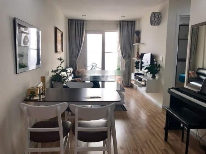 Căn hộ City Gate tầng cao đón view đại lộ, đầy đủ nội thất.