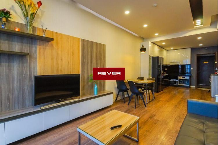 Phòng khách căn hộ LEXINGTON RESIDENCE Cho thuê căn hộ Lexington Residence 2PN, diện tích 67m2, đầy đủ nội thất, view hồ bơi nội khu