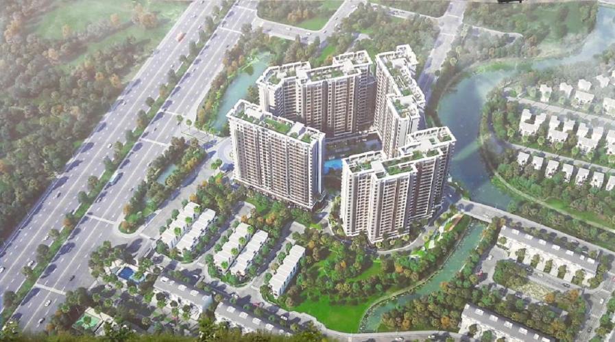 Safira Khang Điền, Quận 9 Căn hộ Safira Khang Điền tầng cao, ban công rộng rãi, view nội khu.