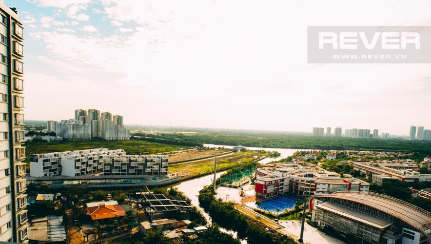 View Căn hộ Chung cư Phú Mỹ tầng cao, 3PN, nội thất đầy đủ, view hồ bơi