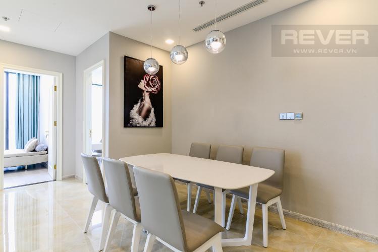 Phòng Ăn Căn hộ Vinhomes Golden River tầng thấp tòa Aqua4 tầng thấp 3 phòng ngủ view sông