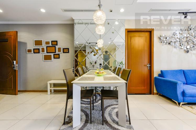 Bàn ăn Căn hộ Vinhomes Central Park 3 phòng ngủ tầng cao Landmark 3