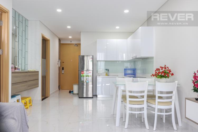 Phòng Khách & Bếp Bán căn hộ An Gia Riverside 2PN, tầng thấp, diện tích 66m2, đầy đủ nội thất