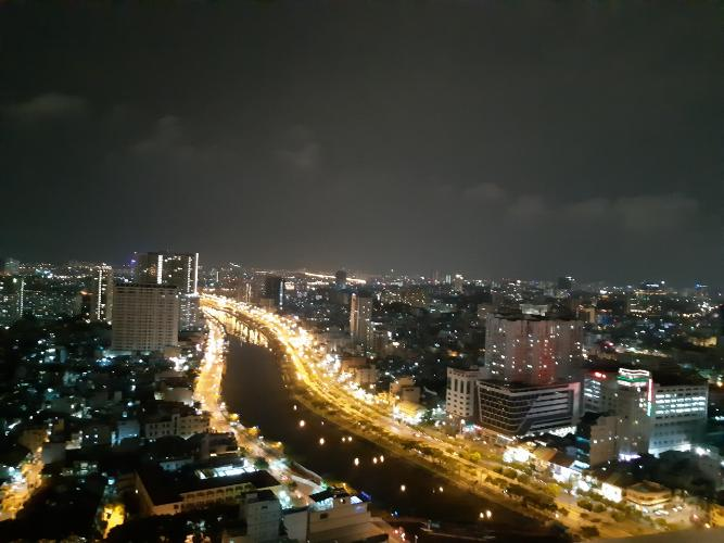 View căn hộ RiverGate Residence Cho thuê căn hộ RiverGate Residence 2 phòng ngủ, diện tích 74m2, đầy đủ nội thất, view thành phố