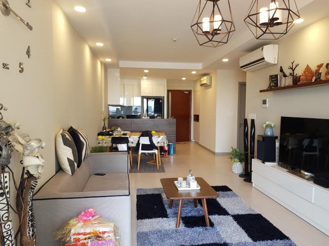 1.1 Bán căn hộ The Gold View 2PN, tháp A, đầy đủ nội thất, view hồ bơi và kênh Bến Nghé