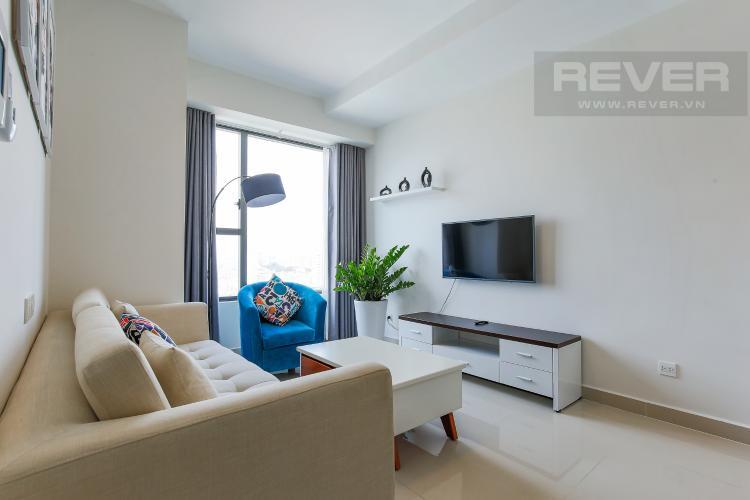 Phòng Khách Căn hộ RiverGate Residence 2 phòng ngủ tầng trung tháp A view sông