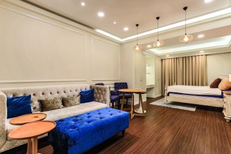 Cho thuê căn hộ Icon 56 tầng trung, 1PN đầy đủ nội thất