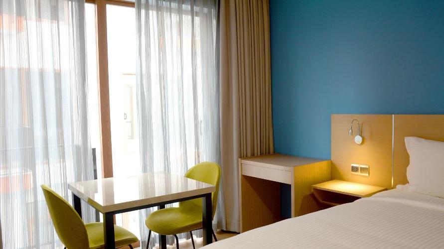 Nội thất căn hộ dịch vụ Căn hộ dịch vụ Kim Residence đầy đủ nội thất, view thoáng mát.