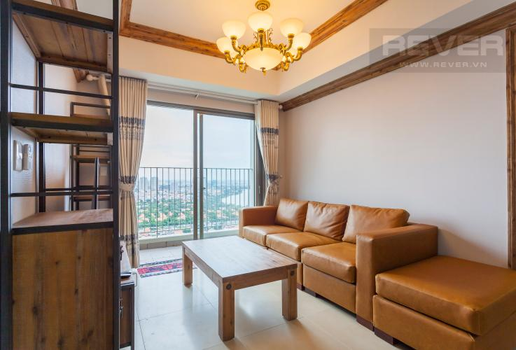 Phòng khách Căn hộ Masteri Thảo Điền tầng cao, view đẹp tháp T5