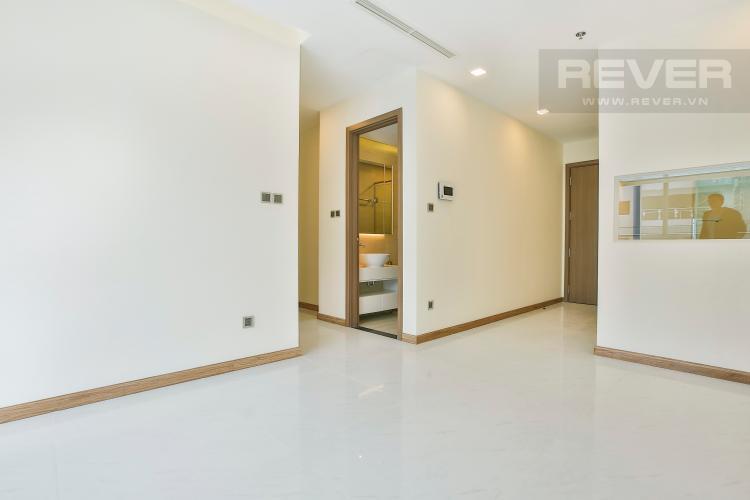 Phòng khách Căn hộ Vinhomes Central Park tầng cao tháp Park 5 thoáng mát