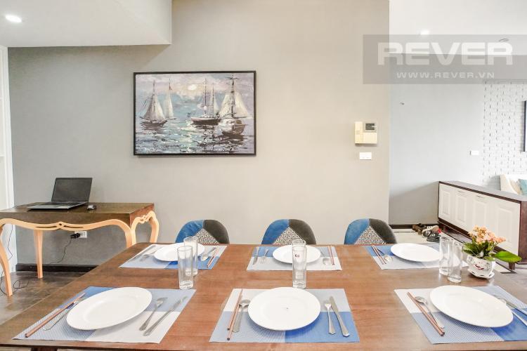 Phòng Ăn Cho thuê căn hộ Grand View 3 phòng ngủ, đầy đủ tiện ích, view sông