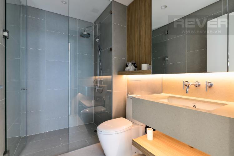 Phòng Tắm 1 Bán hoặc cho thuê căn hộ City Garden 100m2 2PN 2WC, view nội khu, nội thất cao cấp