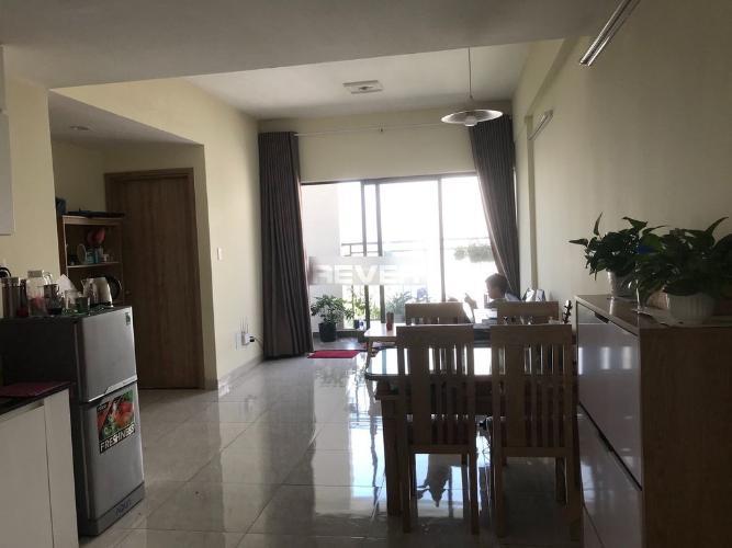 Phòng khách căn hộ Thủ Thiêm Garden Căn hộ Thủ Thiêm Garden hướng cửa Tây Nam, nội thất cơ bản.