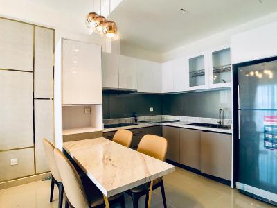 Cho thuê căn hộ The Sun Avenue 2PN, tầng cao, đầy đủ nội thất, view Landmark 81
